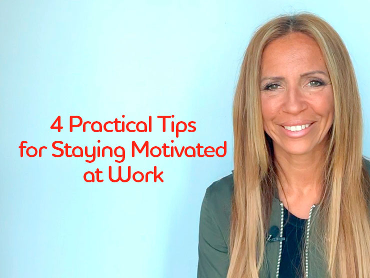 TAG Expert Talk: 4 Practical Tips for Staying Motivated at Work
