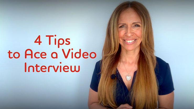 4 tips to ace a video interview