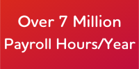 Adecco Payrolling - Over 7 million Payroll Hours / Year