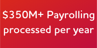 Adecco Payrolling 2 $350M+ Payrolling processed each year