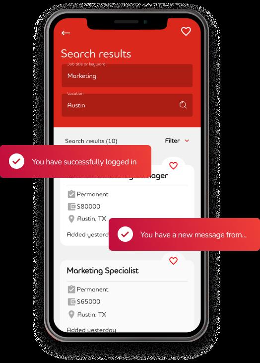 Adecco App Hero Screenshot