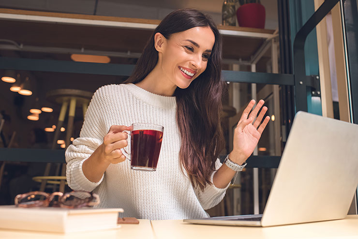 Keeping employees motivated: virtual team happy hour